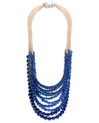 Rosantica | Blue Lapis Lazuli Raissa Necklace | Lyst