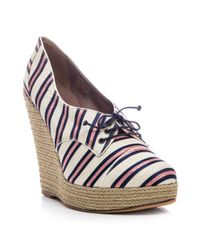 Tabitha Simmons | Blue Oxford Shoes | Lyst