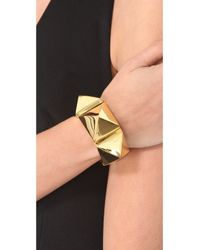 Tom Binns - Metallic Studded Cuff - Lyst