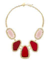 Kendra Scott | Metallic Prancer Fivestation Necklace | Lyst