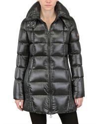 Tatras - Gray Sarin Hooded Shiny Nylon Down Jacket - Lyst