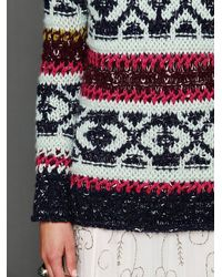 Free People Multicolor Permafrost Tunic
