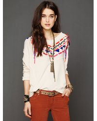 Free People Natural Lead The Way Pullover