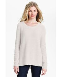 Isaac Mizrahi New York | White Felicity Sweater Online Exclusive | Lyst