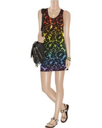 Christopher Kane - Black Rainbow Dress - Lyst