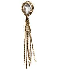 Nicole Romano | Metallic Tassel Earrings | Lyst