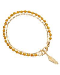 Astley Clarke | Metallic Follow Your Dreams Friendship Bracelet | Lyst