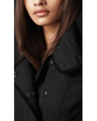 Burberry Prorsum - Black Disconnected Detail Flying Coat - Lyst