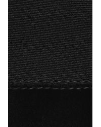 Stella McCartney - Black Sleeveless Tuxedo Dress W/horse Hem - Lyst