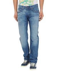 DIESEL   Blue Denim Pants for Men   Lyst