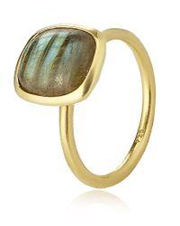 Astley Clarke - Yellow Labrodorite Ring - Lyst