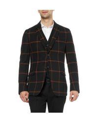 Gucci - Black Slimfit Wool and Cashmereblend Blazer for Men - Lyst