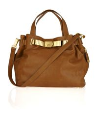 Michael Kors | Brown Hadley Large Leather Tote | Lyst