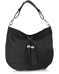 Mulberry | Black Greta Large Leather Bag | Lyst