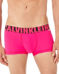Calvin Klein   Pink X Micro Low Rise Trunks for Men   Lyst