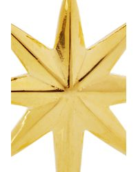 Eddie Borgo - Metallic Goldplated Northern Star Earrings - Lyst