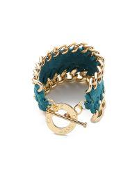 CC SKYE - Blue Single Thompson Wrap Bracelet - Lyst