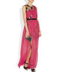 Jason Wu - Pink Embellished Lace and Silkchiffon Gown - Lyst