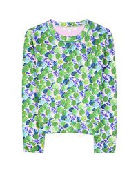 Marc By Marc Jacobs | Green Print Pullover | Lyst