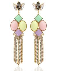 Anton Heunis - Multicolor Candy Store Collection Chains Earrings - Lyst
