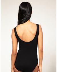 ASOS Collection - Black Asos Basic Scoop Back Vest Body - Lyst