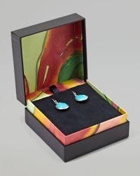 Ippolita | Blue Turquoise Teardrop Earrings | Lyst