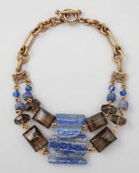 Stephen Dweck | Doublestrand Blue Lapis Necklace | Lyst