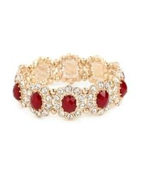 BaubleBar - Purple Merlot Bloom Bracelet - Lyst