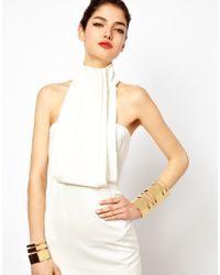 ASOS - Metallic Two Pack Hex Cuff Bracelets - Lyst