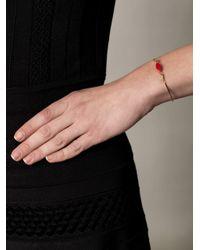 Delfina Delettrez - Metallic Gold Elizabeth Lips Bracelet - Lyst