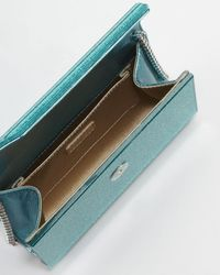 Jimmy Choo - Blue Candy Clutch Bag Turquoise - Lyst