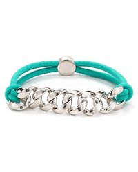 Marc By Marc Jacobs - Blue Sporty Turnlock Bracelet - Lyst