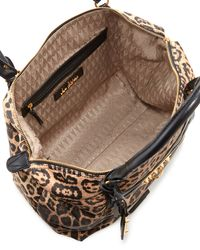 Sam Edelman | Animal Phoebe Leopardprint Nylon Tote Bag | Lyst