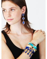 BaubleBar | Blue Aqua Ice Bangle | Lyst