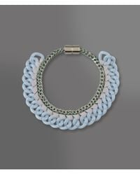 Emporio Armani - Blue Necklace - Lyst