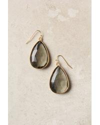 Anthropologie - Green Gold Rung Earrings - Lyst