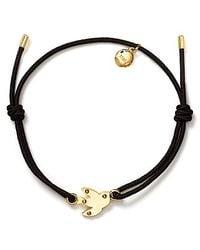 Marc By Marc Jacobs - Black Bird Friendship Bracelet - Lyst