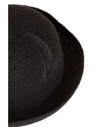 Topshop | Black Cat Ear Hat | Lyst