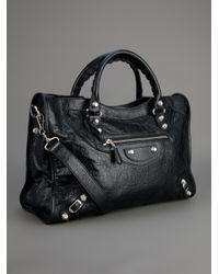 Balenciaga | Black Classic City Leather Bag | Lyst
