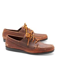 Brooks Brothers | Brown Rancourt & Co Ranger Moccasins for Men | Lyst