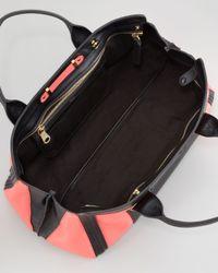 Chloé - Alice Colorblock Medium Satchel Bag Paradise Pink - Lyst