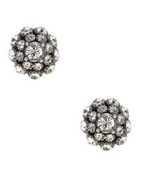 kate spade new york - Metallic Putting On The Ritz Stud Earrings - Lyst