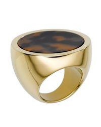 Michael Kors - Metallic Slice Ring - Lyst