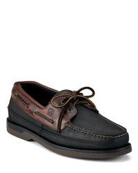 Sperry Top-Sider | Black Mako Boat Shoes for Men | Lyst