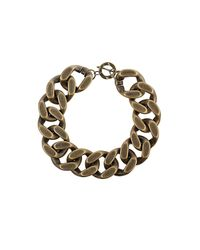 TOPSHOP | Metallic Extra Chunky Chain Necklace | Lyst