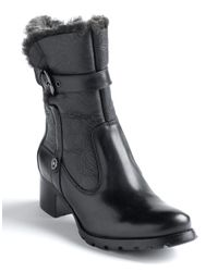 Blondo - Black Fantasia Shearling-lined Buckle Boots - Lyst