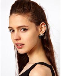 ASOS - Metallic Eye Ear Cuff Pack - Lyst