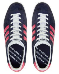 Adidas Blue Gazelle Og Navy Trainers