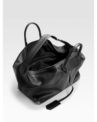 Alexander Wang Black Prisma Weekender Bag