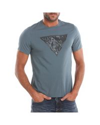 Guess | Green Ss Street Tshirt for Men | Lyst